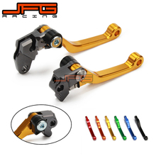 Buy CNC Pivot Foldable Clutch Brake Lever RM125 RM250 96-03 gold Supermoto Enduro Dirt Bike Road Motocross Motorcycle for $20.48 in AliExpress store