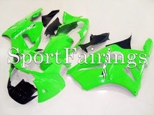 Fairings Fit Kawasaki Ninja ZX-12R ZX12R 2002 2003 2004 2006 02-06 ABS Motorcycle Fairing Kit ABS Bodywork Cowling Green(China)