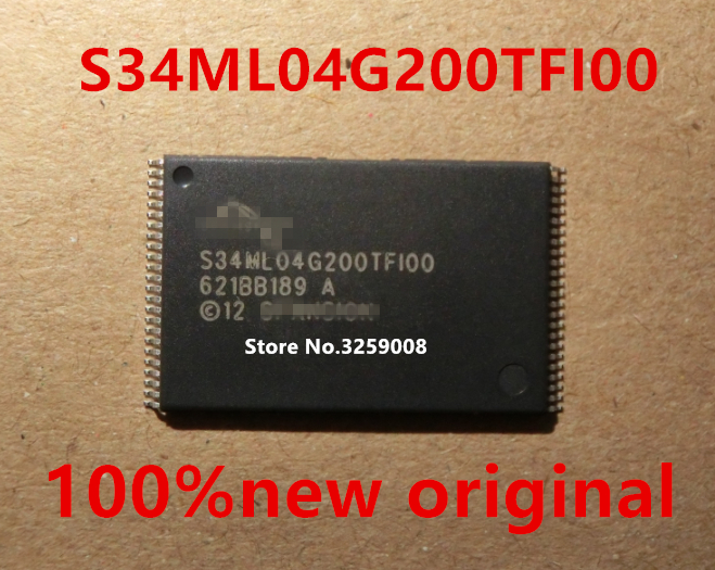 S34ML04G200TFI000 S34ML04G200TF100 100% new imported original 2/5/10PCS<br>