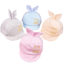 Cute Baby Hat Summer Lace Cotton Newborn Hat Kids Baseball Cap Infant Boy Girl Beanies Caps Infant Visors Sun Hat fit 0 to 12M