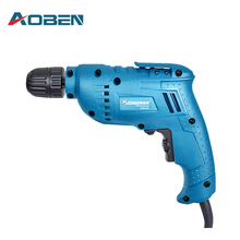 AOBEN Drill Versatile Pros Speed Hand Drill Home Miniature Electrical Switch Gun Pistol Drill Electric Tools AT3210C