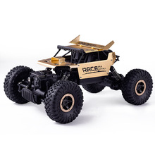 Buy RC Car 1:18 4DW 2.4GHz Metal Rock Crawlers Rally Climbing Car Double Motors Bigfoot Car Remote Control Model Toys Boys for $34.95 in AliExpress store