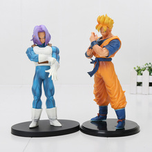 17cm / 20cm Dragon Ball Z Action Figure SUPER Future Trunks gohan Figure Resolution of Soldiers VOL.5 PVC Collection Toys