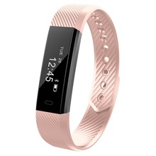 Smartch Hot ID115 Smart Band Bluetooth Bracelet Pedometer Fitness Tracker Watch Remote Camera Wristband For Android iOS(China)