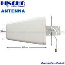 cheap full band Log periodic antenna 800-2500MHz 9DB antenna 3G GSM repeater lpda antenna(China)