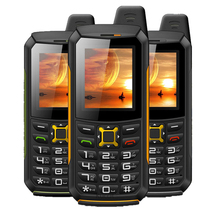 Original M21 IP68 Waterproof Torch phone Mobile GSM Senior old man phone Rugged shockproof cell phone Two Sim Breathe light Army