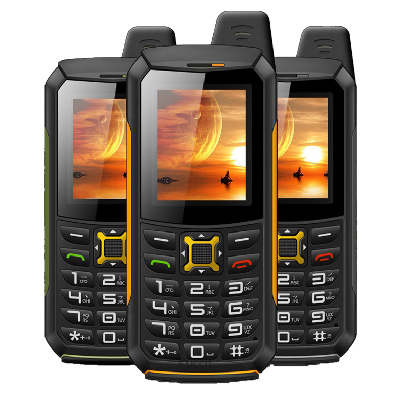 Original M21 IP68 Waterproof Torch phone Mobile GSM Senior old man phone Rugged shockproof cell phone Two Sim Breathe light Army(China)