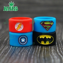 Buy RHS factory Popular FDA Non-slip Ecig Mechanical Mod Silicone Custom Vape Bands 200pcs free for $89.99 in AliExpress store