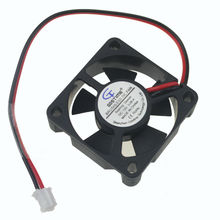 10PCS Gdstime 12V 2Pin 2Wire 3510 3cm 35mm 35 x 35 x 10mm DC Cooling Fan Ventilator