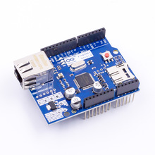 Ethernet Shield W5100 R3 Support PoE For Arduino UNO Mega 2560 Nano Free Shipping(China)