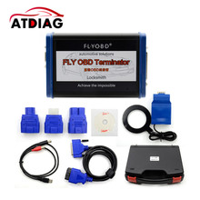 FLY OBD Terminator Locksmith Version Include Immobilizer Odometer Function Update Online Get Free J2534 Softwares(China)