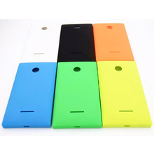 100% New Colorful Battery Door Back Cover Housing Case For Nokia Microsoft Lumia 435 532 With Power Volume Buttons