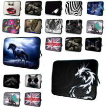 "Animal Computer Bag For Men 16"" 17"" 17.4"" Sleeve Case With Handle PC Handbag Universal 17 Inch Laptop Bags For Lenovo Toshiba HP"