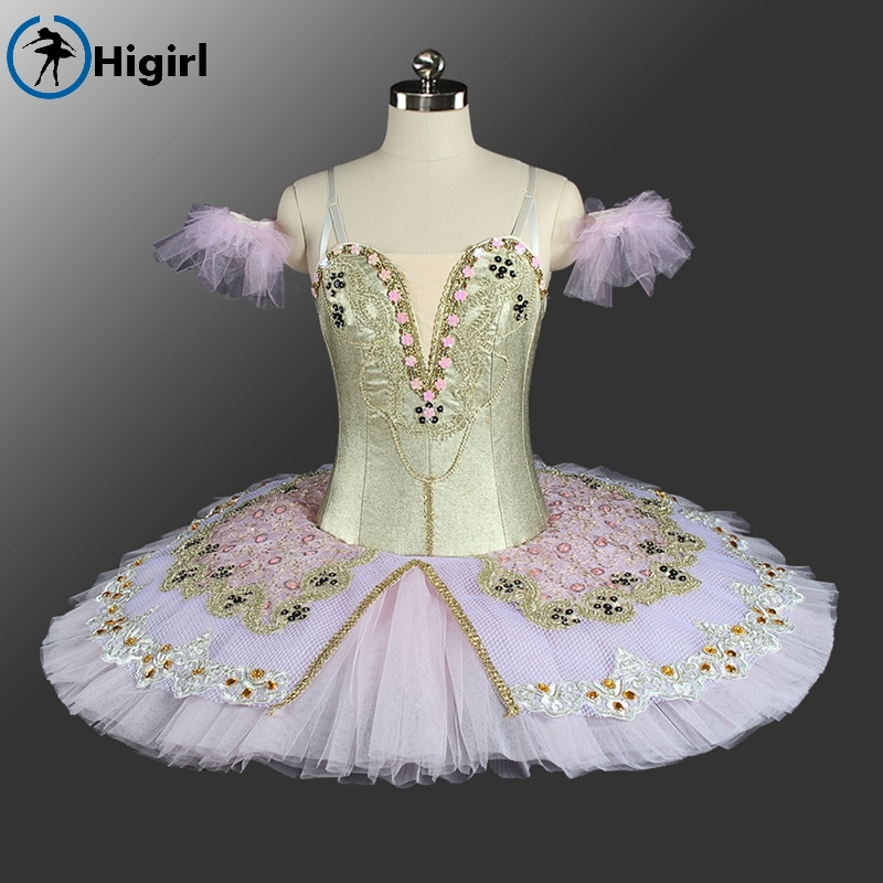 Girls adult ballet tutu pink white classical competiton ballet tutu professional ballet costumes for kids BT9149