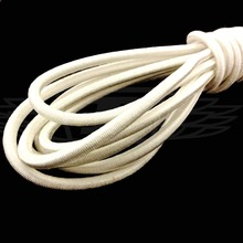 5mm x 10 Meters, White Strong Elastic Bungee Rope Shock Cord Tie Down DIY Jewelry Making AA7637(China)