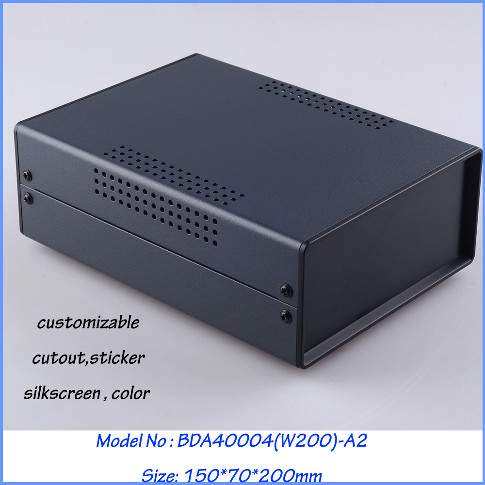 (1 pc) Standard Iron box for device enclosure   150*70*200mm Iron box for pcb<br>