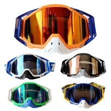 2017 100% brand Motocross Goggles Moto Bike ATV Lunette Motorcycle Glasses 5 Colors with Goggle Bag(China)