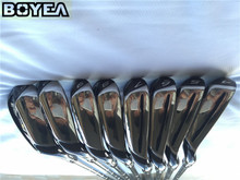 Brand New Boyea M2 Iron Set Golf Forged Irons Golf Clubs 4-9PS Regular and Stiff Flex Graphite Shaft With Head Cover
