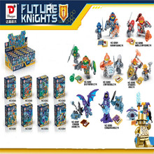 8pcs/lot Dragon NEW Nexo Knights Future Shield Building Blocks Castle Warrior Nexus Kids Toys Gift Compatible With Lepin