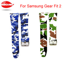 Buy Fashion Watch band Luxury Replacement Silicone Watchbands SAMSUNG GEAR Fit 2 Fit2 SM-R360 Bracelet Wristband Strap hot sale for $2.88 in AliExpress store