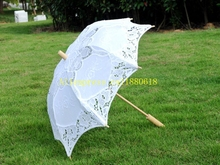 50pcs/lot Big & small Lace Parasol Women Sun Umbrella Vintage Handmade Umbrellas Wedding Bridal Party Decoration Supplies