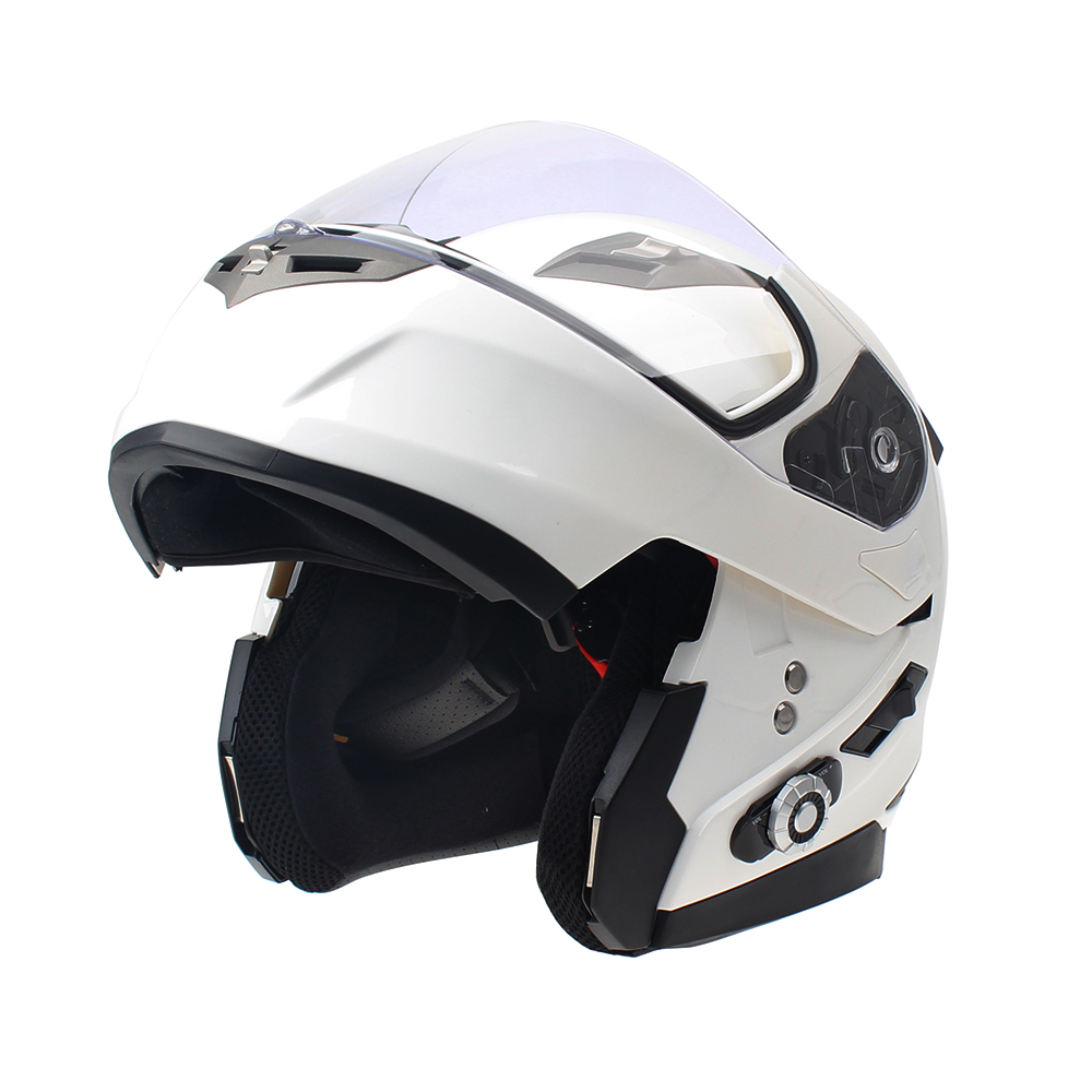 2017 New FreedConn Smart Bluetooth Helmet Built in Intercom System Support 2 riders Talking and FM Motorcycle BT Interphone