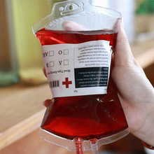5Pcs/set Halloween Food Grade PVC Drink Bag The Vampire Diaries Cosplay Blood Bag Props Halloween Decoration Supplies P20