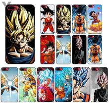 Чехол для телефона Yinuoda с Аниме Драконий жемчуг Saiyan Goku Vegetto Gohan для Apple iPhone 8 7 6 6S Plus X XS MAX 5 5S SE XR(Китай)
