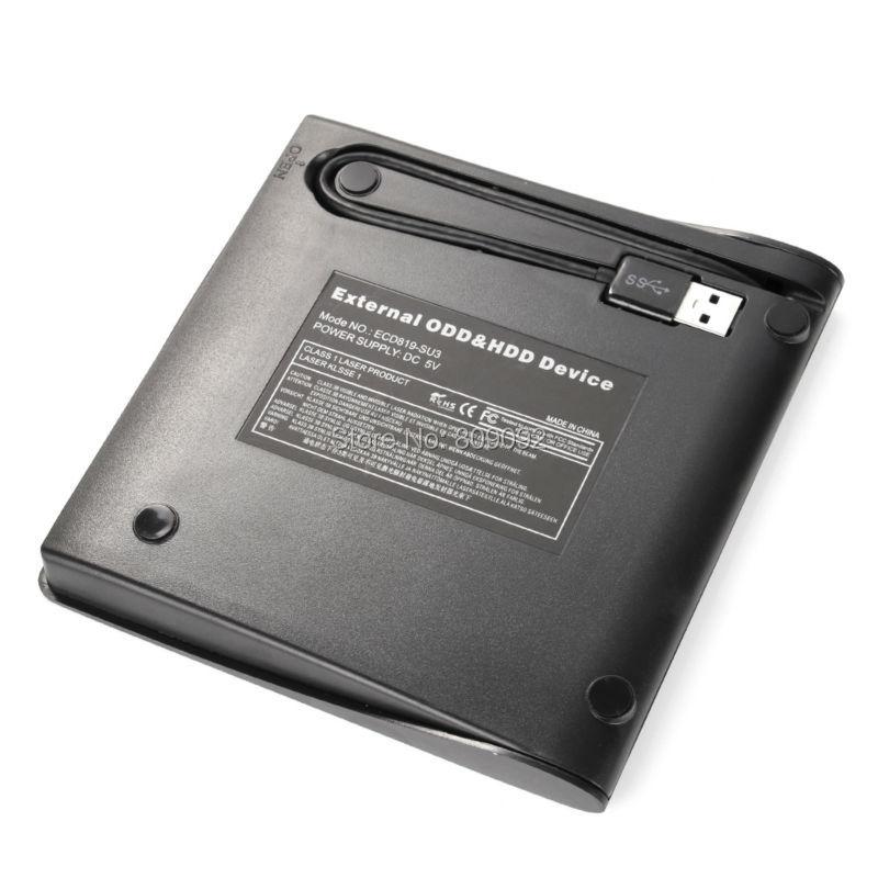 External USB3.0 DVD RW CD Drive Writer Burner Reader Player For Desktop PC<br>
