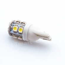 2016 New T10 W5W 194 168 501 10 LED 3528 SMD Pure White Car Auto Replacement Light Side Wedge Rear Bulb Lamp DC12V