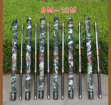 MIG Guangwei Power Hand Rod 8 9 10 11 12 13 Meters Hard Carbon Long Pole Fishing Rod(China)