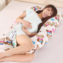 2018 U Shape Total Body Pillow Pregnancy Maternity Pillow Maternity Belt Body Character Baby Pregnancy Side Sleepers Cushion(China)