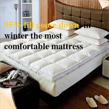 Outside Fabric 100%Cotton Filling 95% Goose Down The thickness of 5cm Mattresses Fivestar Hotel Special-purpose(China)