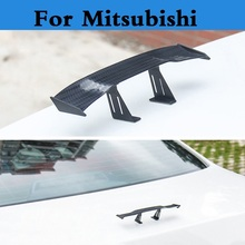 New Car styling auto spoiler mini rear wing sticker for Mitsubishi Galant i i-MiEV Lancer Lancer Cargo Evolution Ralliart Minica
