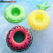 Rowsfire Inflatable Pool Pineapple Drink Bottle Holder Tree Pineapple Float Swimming Pool Accessories Baby Bathing Toys piscina
