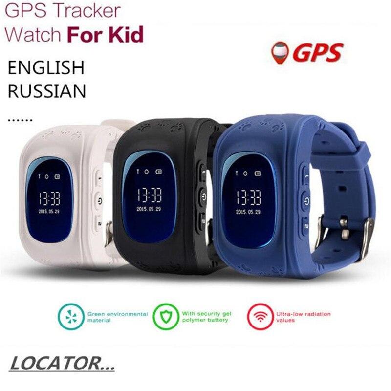 English Russian GPS Kid Safe Smart Watch SOS Call Finder Locator Tracker Children Watch For Child Anti Lost Baby Wristwatch F40<br>