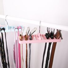 Storage Rack Tie Belt Organizer Space Saver Rotating Scarf Ties Hanger Holder Hook Closet Organization Tops Bra Belts Bag New(China)