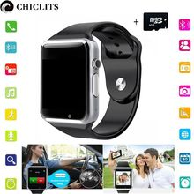 A1 Bluetooth Smart Watches Android New Smartwatch with Camera Sport Pedometer Tracker Wearable Device for Android PK DZ09 GT08