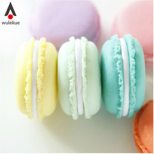 50PCS Bulk 4cm Jewelry Plastic Box Organizadores Gift Mini Macarons Candy Color Storage Boxs For Jewelry Organizer Wedding gifts(China)