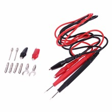 1 Set Multifunction Combination Test Cable Wire Digital Multimeter Probe Test Lead Cable Alligator Clip FULI