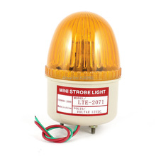 DC 12V 24V AC 220V 110V Industrial Rotary Strobe Flash Light Yellow Signal Emergency Warning Lamp LTE-2071 Discount