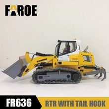 2018 NEW 1/12 RC Hydraulic Loader model FR636 with tail hook(China)