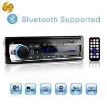 Viecar Car Radio Stereo MP3 Player Digital Bluetooth 60Wx4 FM Audio Music USB / SD with In Dash AUX Input