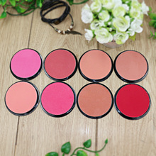 NANI monochrome blush rouge powder orange pink pearl matte blush pink manufacturers wholesale 8 colors 24Pcs/lot(China)