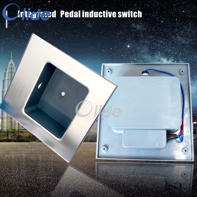 Integrated Pedal/Foot Inductive Switch,Motion Switch For Hospital/Laboratories And Cleaning Rooms<br>