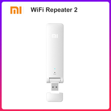 Mi Xiao mi repetidor WIFI 2 amplificador extensor Universal Repitidor Wi-Fi extensor 300 Mbps Router de red extensor(China)