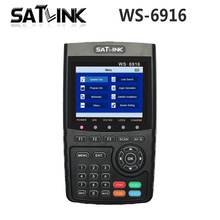 Original Satlink WS-6916 Satellite Finder DVB-S2 MPEG-2/MPEG-4 Satlink 6916 High Definition Satellite meter TFT LCD Screen