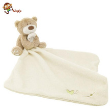 30cm Infant Reassure Towel Newborn Towel Bear Blankie Baby Toy Appease Towel Newborn Gift Baby Educational Plush Toy