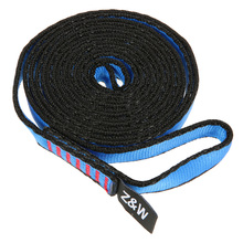 23KN Flat Strap 16mm 60cm/120cm/150cm Rope Runner Webbing Sling Belt for Mountaineering Rock Climbing Caving Rappelling Rescue(China)