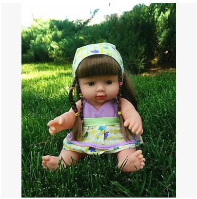 Free shipping 2015 hot sale  23 colors  28cm baby doll fucoidin doll baby bath toy belt voice-activated water doll<br><br>Aliexpress